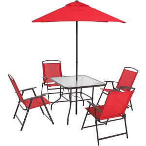 Albany Lane 6 Piece Outdoor Patio Dining Set by Mainstays