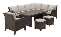 Antigua Outdoor Sectional Dining Set