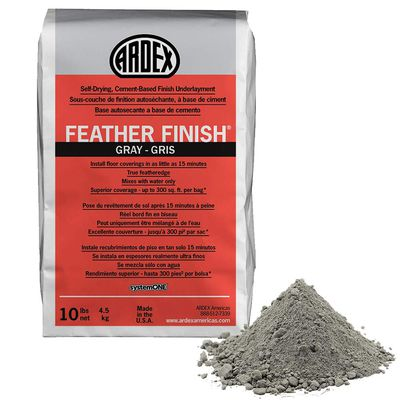 Ardex Feather Finish in Gray