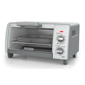 Black + Decker Crisp Bake Air Fry 4-Slice Toaster Oven