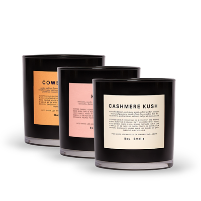 Boy Smells: All Natural Candles For Every Identity