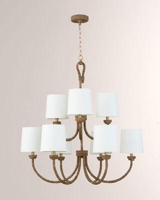 Coastal Living Bimini 2-Tier Chandelier