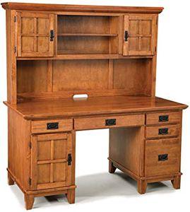 Ferryhill Desk with Hutch by Three Posts