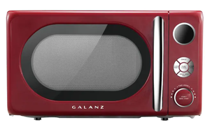 Galanz GLCMKA07RDR-07 0.7-cu ft Countertop Microwave in Hot Rod Red