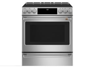GE Cafe CHS900P2MS1 Slide-In Induction & Convection Range