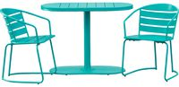 Gunner Oval 2 - Person Bistro Set by Hashtag Home