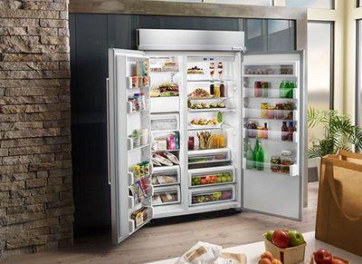 KitchenAid KBSN608EPA Built-In Panel Ready Refrigerator at Bestbuy.com
