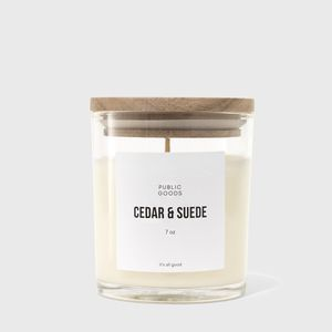 Public Goods Zero-Waste Scented Candles