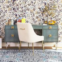 Lacquered Regency Desk by Tracey Boyd