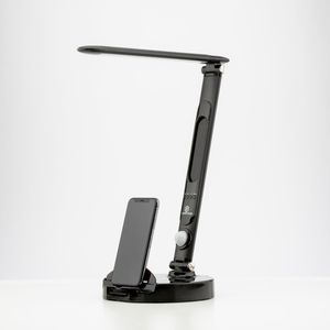 LumiCharge 15.8 Silver All-In-One LED Desk Lamp