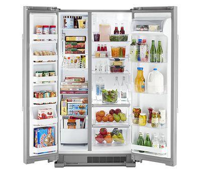 Maytag MSS25N4MKZ Side-by-Side Refrigerator at Bestbuy.com