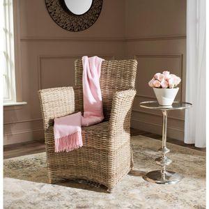 Natuna Natural Rattan Arm Chair by Safavieh