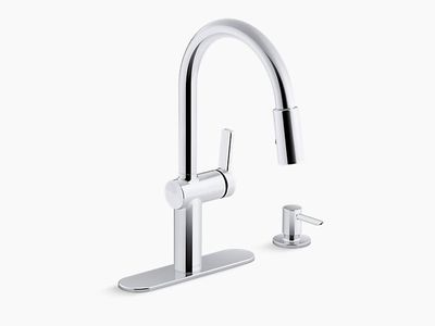 Revamp Your Kitchen Sink With a Brand New Faucet