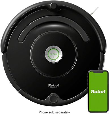 Roomba 675 WiFi-Connected Robot Vacuum by iRobot