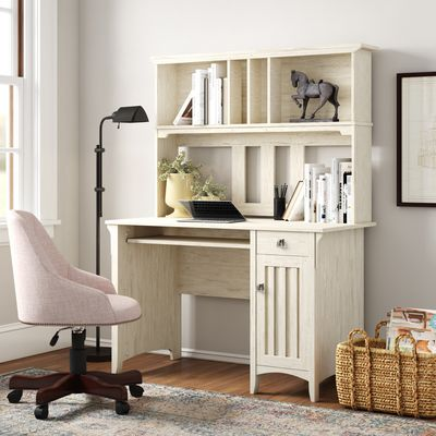 Salinas Computer Desk with Hutch by Bush Furniture