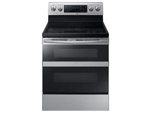 Samsung NE59M6850SS Electric Range with Flex Duo Door and Dual Fan Convection