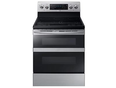 Samsung NE59M6850SS Electric Range with Flex Duo Door and Dual Fan Convection at Build.com