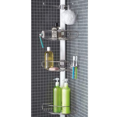 Simplehuman 4-Tier Stainless Steel Tension Pole Shower Caddy