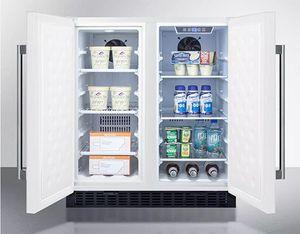 Summit FFRF3075W Under-Counter Refrigerator
