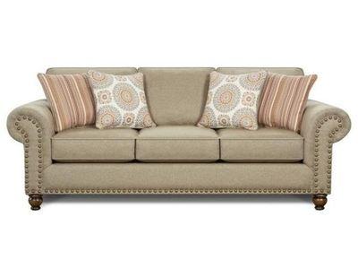 Turino Sisal Tan Sleeper Sofa by Fusion Furniture