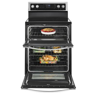 Whirlpool WGE745C0FS Freestanding Double Oven at Bestbuy.com