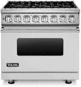 Viking VDR7366BSS 7 Series 36-Inch Dual Fuel Range
