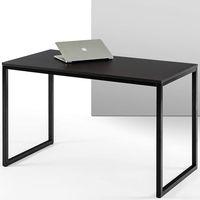 """Zinus Jennifer 47"""" Black Frame Desk"""